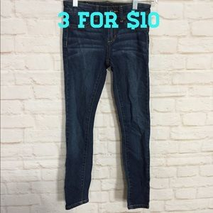 Joe's dark wash skinny jeans 10